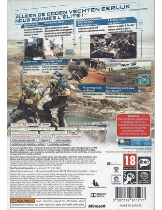 GHOST RECON FUTURE SOLDIER für Xbox 360