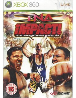 TNA IMPACT Total Nonstop Action Wrestling with bonus dvd and poster - Xbox 360