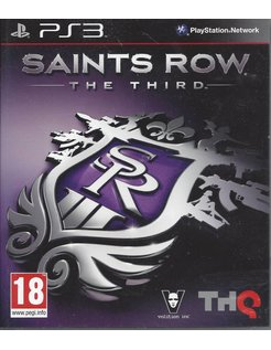 SAINTS ROW THE THIRD voor Playstation 3