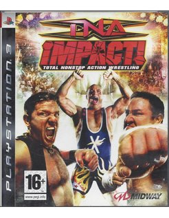 TNA IMPACT TOTAL NONSTOP ACTION WRESTLING für Playstation 3 PS3
