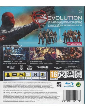 BRINK voor Playstation 3 PS3