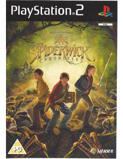 THE SPIDERWICK CHRONICLES for Playstation 2 PS2  - manual in English