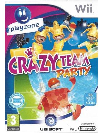 CRAZY TEAM PARTY voor Nintendo Wii