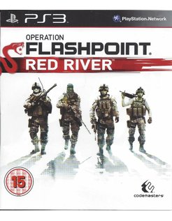 OPERATION FLASHPOINT RED RIVER voor Playstation 3 PS3