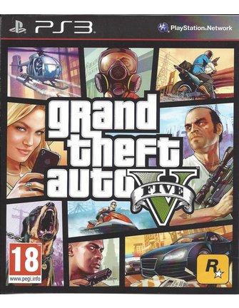 GRAND THEFT AUTO V (5) GTA V  for Playstation 3 PS3