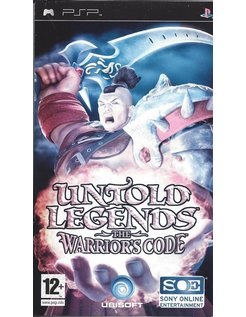 UNTOLD LEGENDS THE WARRIOR'S CODE voor PSP