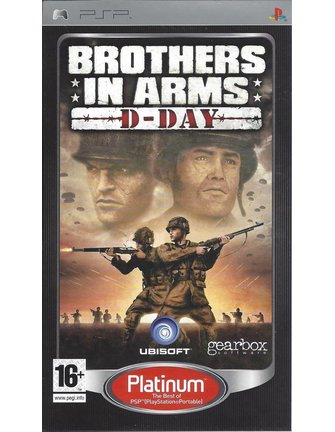 BROTHERS IN ARMS D-DAY voor PSP - Platinum
