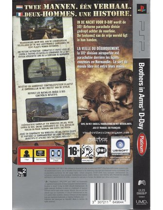 BROTHERS IN ARMS D-DAY für PSP - Platinum