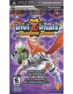 INVIZIMALS SHADOW ZONE for PSP - complete