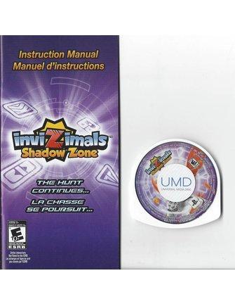 INVIZIMALS SHADOW ZONE voor PSP - compleet