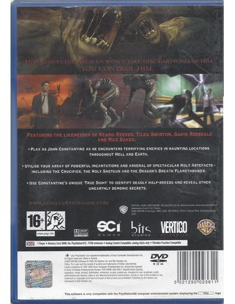 CONSTANTINE for Playstation 2 PS2