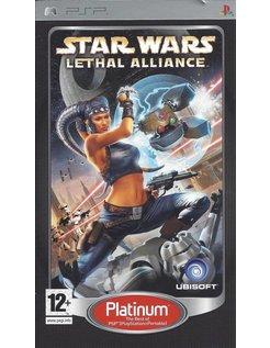 STAR WARS LETHAL ALLIANCE for PSP - Platinum