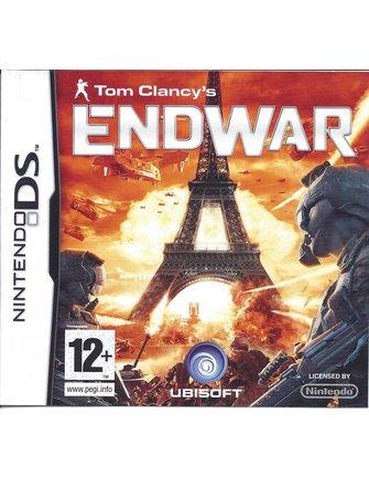 TOM CLANCY'S ENDWAR voor Nintendo DS