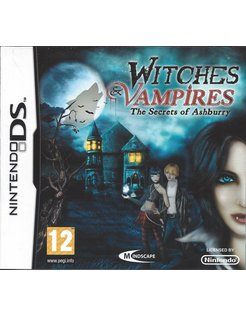 WITCHES AND VAMPIRES THE SECRETS OF ASHBURRY voor Nintendo DS