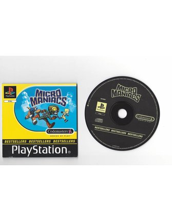 MICRO MANIACS voor Playstation 1 PS1