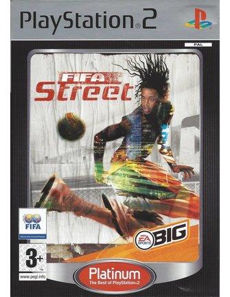 FIFA STREET voor Playstation 2 PS2 - Platinum