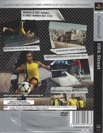 FIFA STREET für Playstation 2 PS2 - Platinum