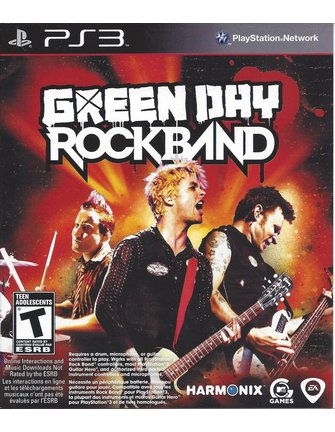 GREEN DAY ROCK BAND voor Playstation 3 PS3