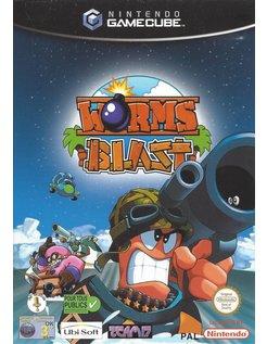 WORMS BLAST voor Nintendo Gamecube