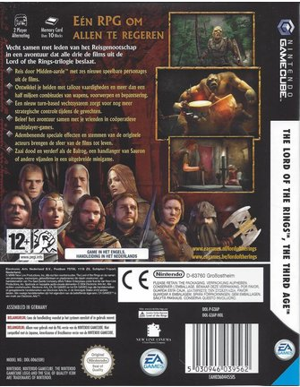 THE LORD OF THE RINGS - THE THIRD AGE voor Nintendo Gamecube