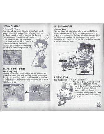 HARVEST MOON A WONDERFUL LIFE voor Nintendo Gamecube