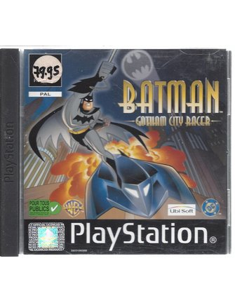BATMAN GOTHAM CITY RACER voor Playstation 1  PS1