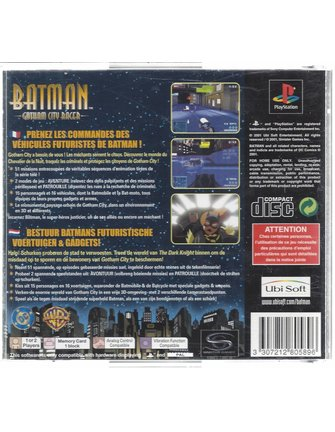 BATMAN GOTHAM CITY RACER for Playstation 1 PS1