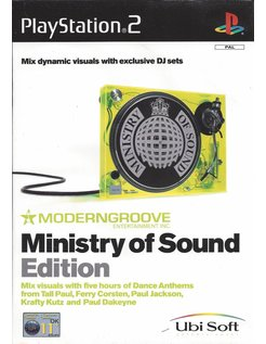 MODERNGROOVE MINISTRY OF SOUND EDITION voor Playstation 2 PS2