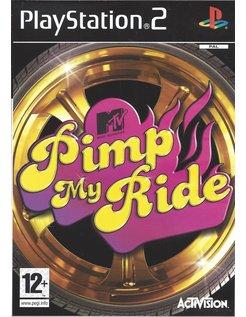 PIMP MY RIDE  voor Playstation 2 PS2
