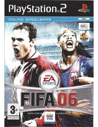 FIFA 06 voor Playstation 2 PS2