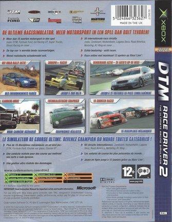 DTM RACE DRIVER  2 für Xbox