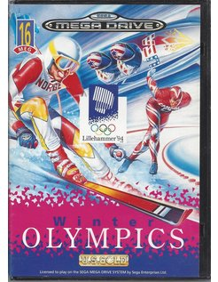 WINTER OLYMPICS for Sega Mega Drive