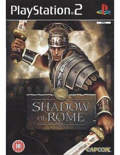 SHADOW OF ROME voor Playstation 2 PS2 - manual in het Engels