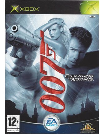 JAMES BOND 007 EVERYTHING OR NOTHING voor Xbox