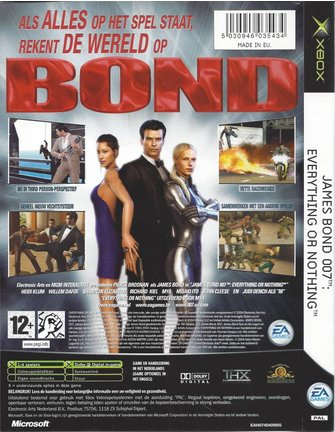 JAMES BOND 007 EVERYTHING OR NOTHING für Xbox