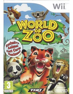 WORLD OF ZOO voor Nintendo Wii - manual in Engels
