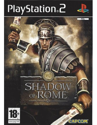 SHADOW OF ROME for Playstation 2 PS2 - manual in Dutch