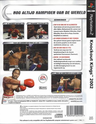 KNOCKOUT KINGS 2002 für Playstation 2 PS2