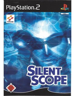 SILENT SCOPE voor Playstation 2 PS2 - manual in Duits