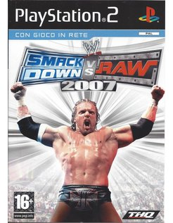 WWE SMACKDOWN VS RAW 2007 for Playstation 2 - Italian