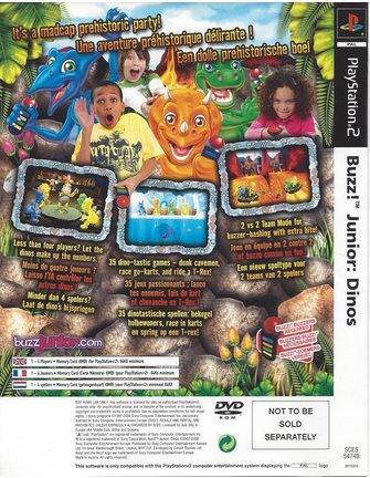 BUZZ JUNIOR DINOS - DINO DEN für Playstation 2 PS2