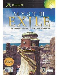 MYST III (3) EXILE voor Xbox