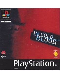 IN COLD BLOOD für Playstation 1