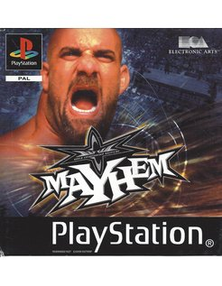 WCW MAYHEM voor Playstation 1