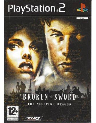 BROKEN SWORD THE SLEEPING DRAGON voor Playstation 2 PS2