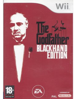 THE GODFATHER BLACKHAND EDITION voor Nintendo Wii