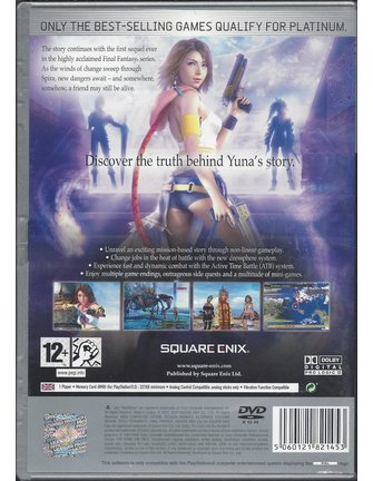 FINAL FANTASY X-2 (10-2) für Playstation 2 PS2