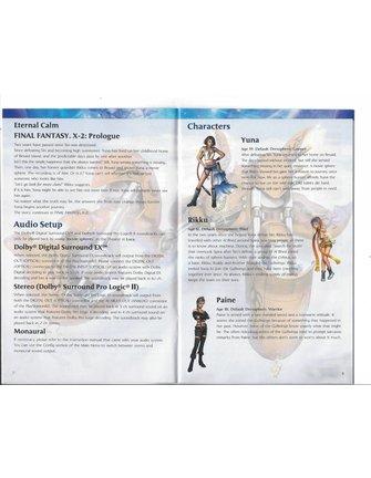 FINAL FANTASY X-2 (10-2) voor Playstation 2 PS2