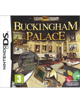 HIDDEN MYSTERIES BUCKINGHAM PALACE für Nintendo DS