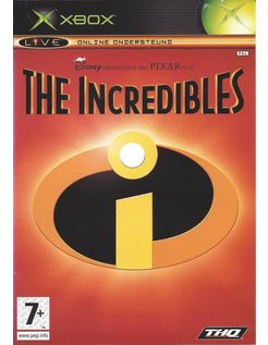THE INCREDIBLES voor Xbox